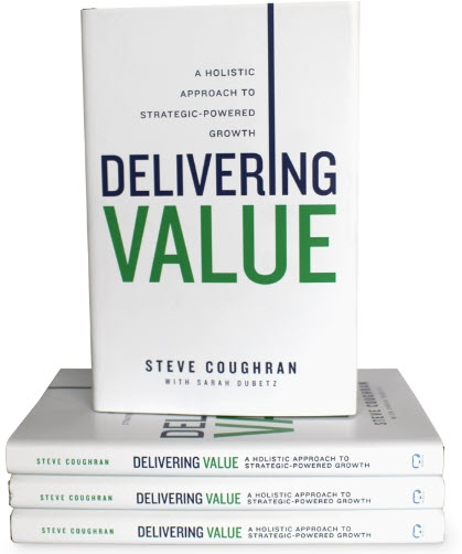 "Strategic Insights That Drive Value - How much is a bad strategy costing your organization?Steve Coughran employs over a decade of research and international business expertise to provide readers with fresh insights and a comprehensive framework for strategic growth.Transform your business by applying the six value drivers that create exceptional customer experiences while boosting profits and cash flow.""An insightful read that offers a fresh perspective on generating strategic growth within your business.""– Amazon verified customer"