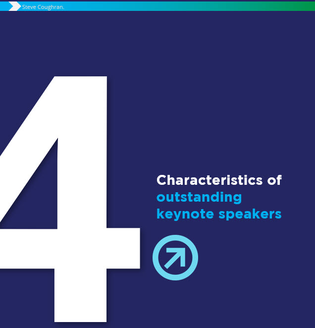 "CHECK THIS OUT - LOOKING TO HIRE AN OUTSTANDING KEYNOTE SPEAKER?Download ""4 Characteristics of Outstanding Keynote Speakers"" first."