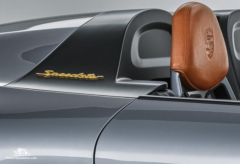 2018 Porsche 911 Speedster concept courtesy Porsche AG