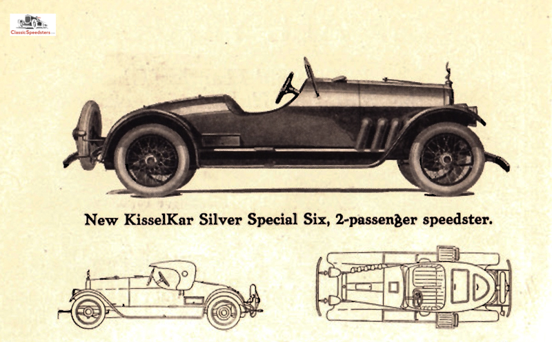 1918 KisselKar Silver Special Speedster courtesy Lynn Kissel collection