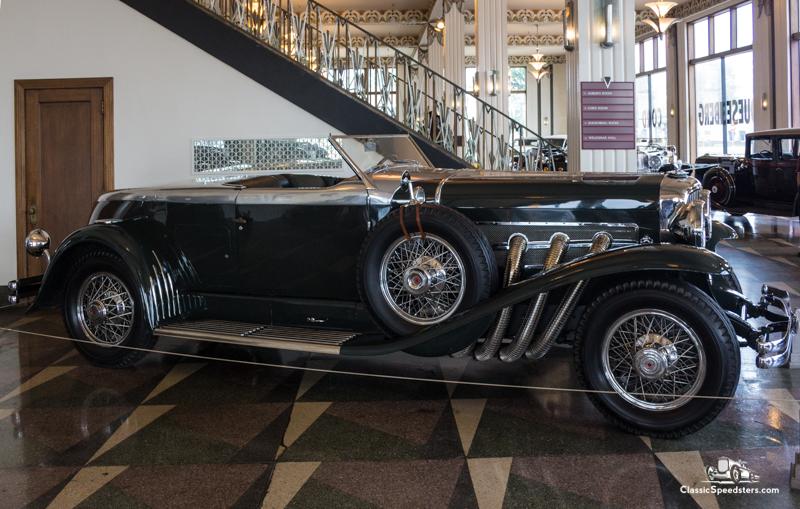1932 Duesenberg Model J Torpedo Convertible Coupe Speedster, ACD Museum