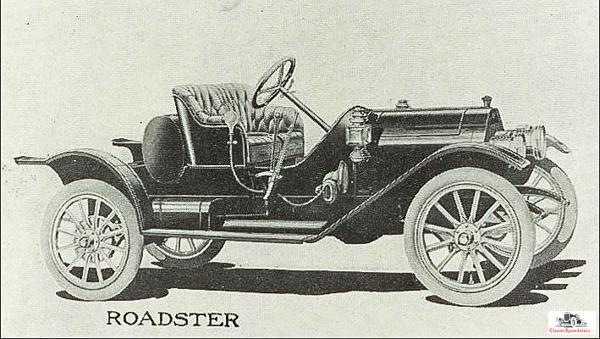 1910-11 E-M-F 30 Racy Roadster