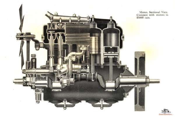 1910-12 Flanders 20 Engine