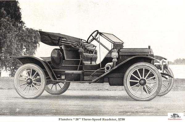 1912 Flanders 20 Roadster