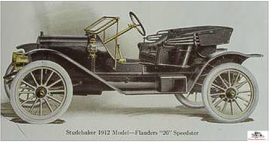 1912 Studebaker-Flanders 20 Speedster. Similar to the Witt Special but with smaller-diameter tires.