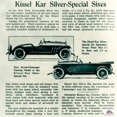 1918 Silver Special Sixes Article excerpt.jpg