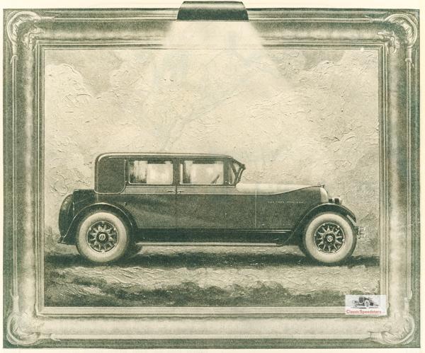 1925 Auburn Sedan.  Illus courtesy AACA Library