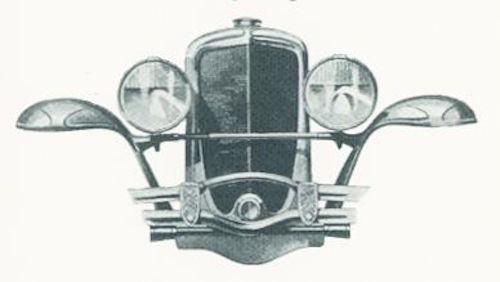 1930 Duesenberg Model J Facade