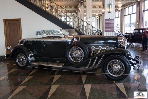 1932 Duesenberg Torpedo Convertible Coupe