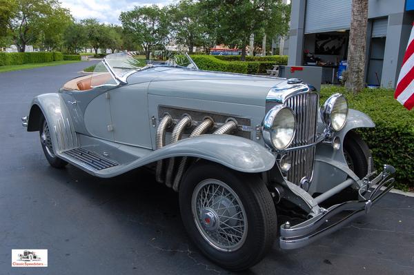 1935 Duesenberg Special Roadster-Speedster.  Image courtesy Revs Institute