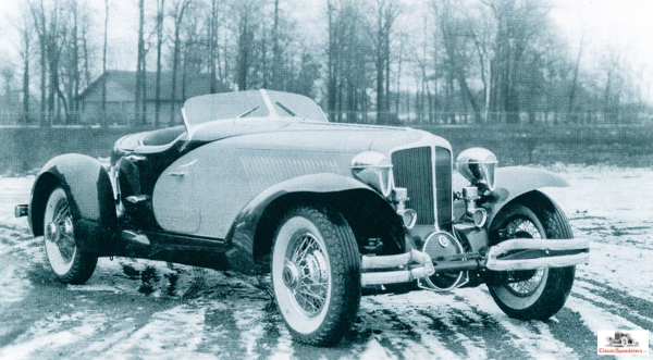 1931 Cord L-29 Speedster after NY Auto Show Jan 1931.  photo courtesy ACDA Museum
