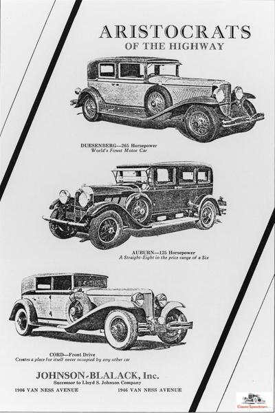 1930 Dealer ad.  courtesy HCFI.org