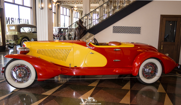 1931 Cord L-29 Speedster at ACDA Museum, 2017