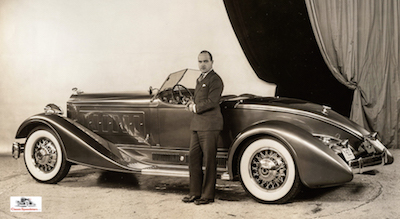 "1933 Packard ""Brown Bomber"" Speedster Prototype.  courtesy Skillman Library Automotive Collection, DPL"