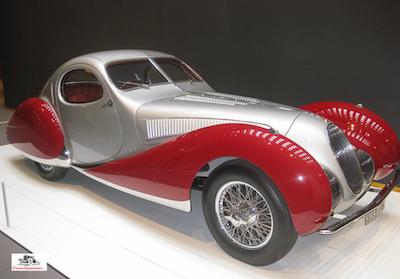 1938 Talbot-Lago at NCMA, Raleigh NC 2016
