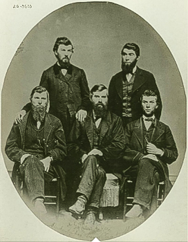 Studebaker brothers, 1858  Library of Congress