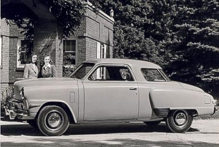 1947 Studebaker Champion  Studebaker Corp photo courtesy AACA Library