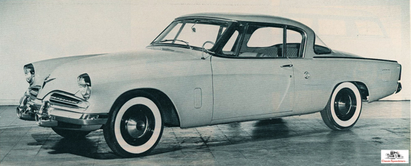 1953 Studebaker Regal Starliner Hardtop  Studebaker Corp photo courtesy AACA Library