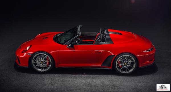 2018 Porsche 911 Speedster  photo courtesy Porsche AG