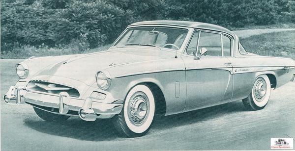 1955 Studebaker President Speedster  factory image