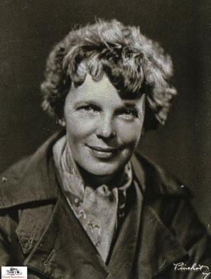 Amelia Earhart 1936  Photo courtesy Purdue University Archives