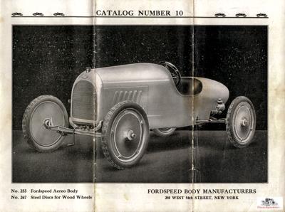 Fordspeed Aereo Body.  catalog image courtesy Larry Sigworth collection