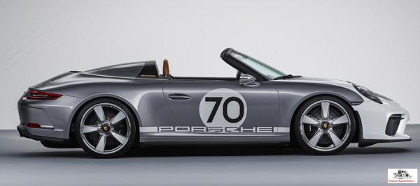 2019 Porsche 911 Speedster.  photo courtesy Porsche AG