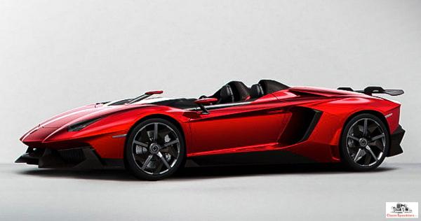 2012 Lamborghini Aventador J Speedster.  factory image