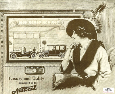 Excerpt from a 1913 National ad