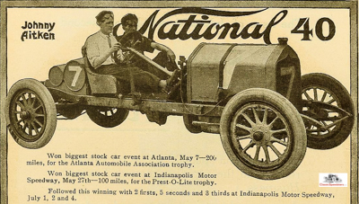 Excerpt from 1910 National ad.