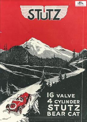 1917 Stutz Bearcat ad