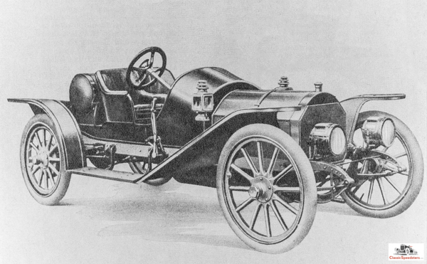 This street speedster represents the beginning of the mighty Mercer domination of the nineteen-teens. The Mercer Raceabouts that emerged in 1911 were a vast improvement over this 1910 Mercer Model 30, but one has to start somewhere!  Catalog image courtesy AACA Library    Our next post in this series will cover the teen decade of the 20th century. Stay tuned and tuned up!