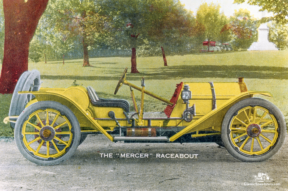 1911 Mercer Raceabout from catalog.  Image courtesy AACA Library