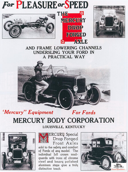Note the chassis details in the photos above of this very illustrative ad. These photos are treasure for restoration artisans!  image courtesy Jarvis Erickson collection