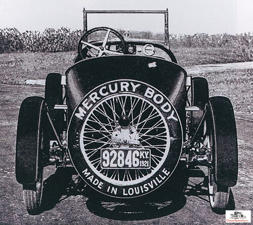 Adios to a great little speedster!  image courtesy Jarvis Erickson collection