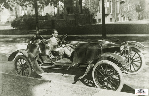 in 1912 Edsel designed this cutdown speedster.  photo courtesy The Henry Ford