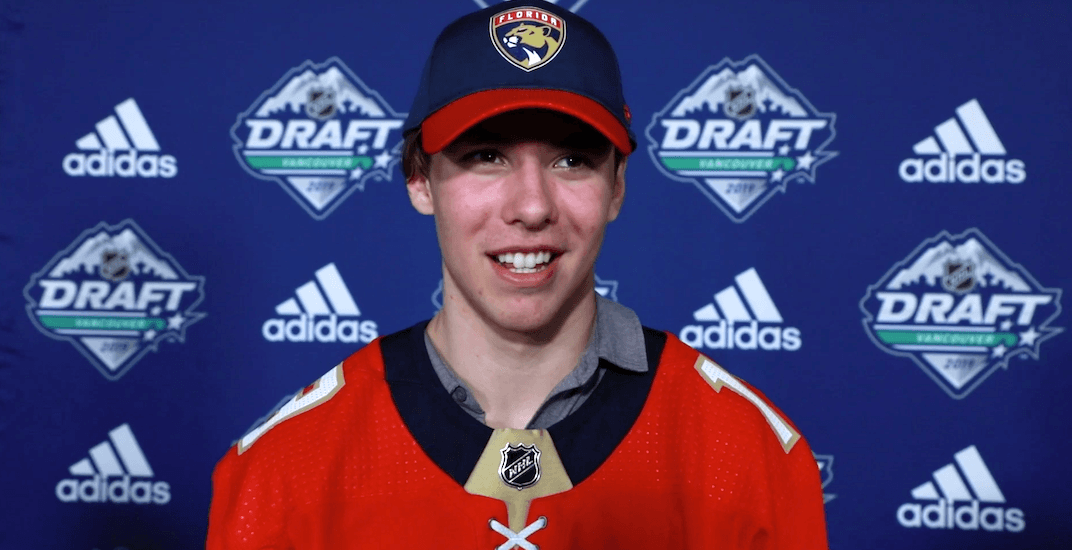Henry Rybinski drafted by Florida Panthers -