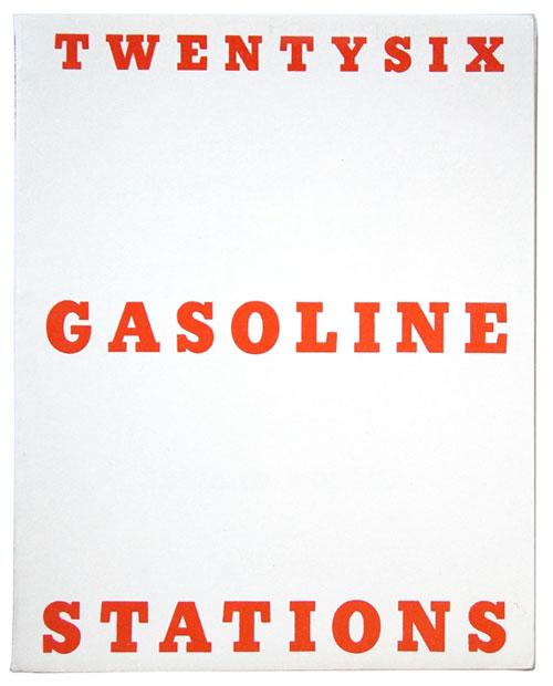 Twentysix Gasoline Stations , by Ed Ruscha, 1963