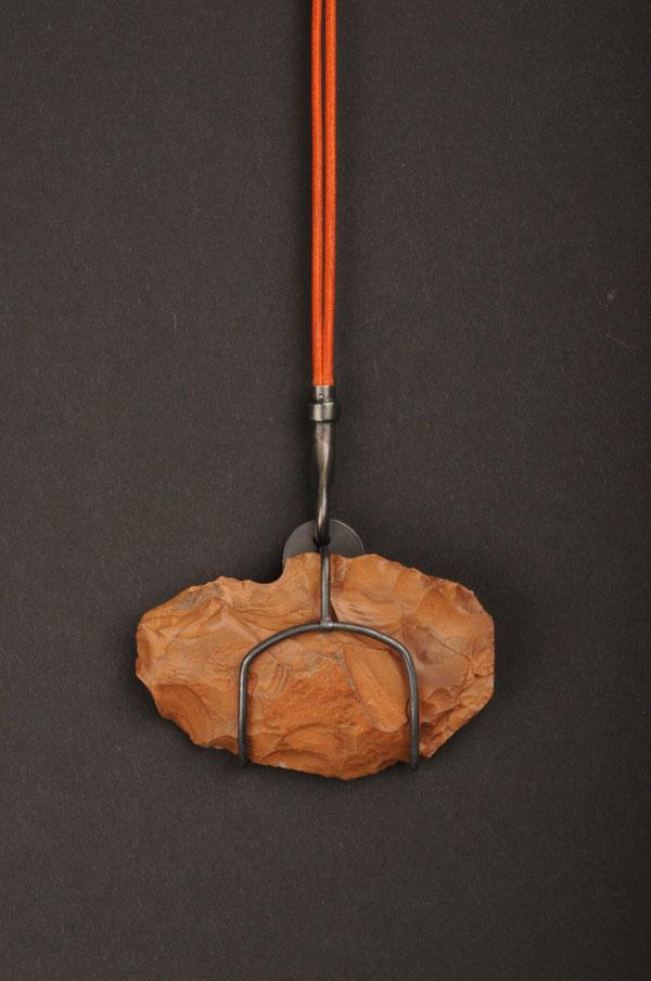 Reinhold Ziegler ,  Assembled Stone Age Paraphernalia . (Photo: courtesy Norwegian Crafts)