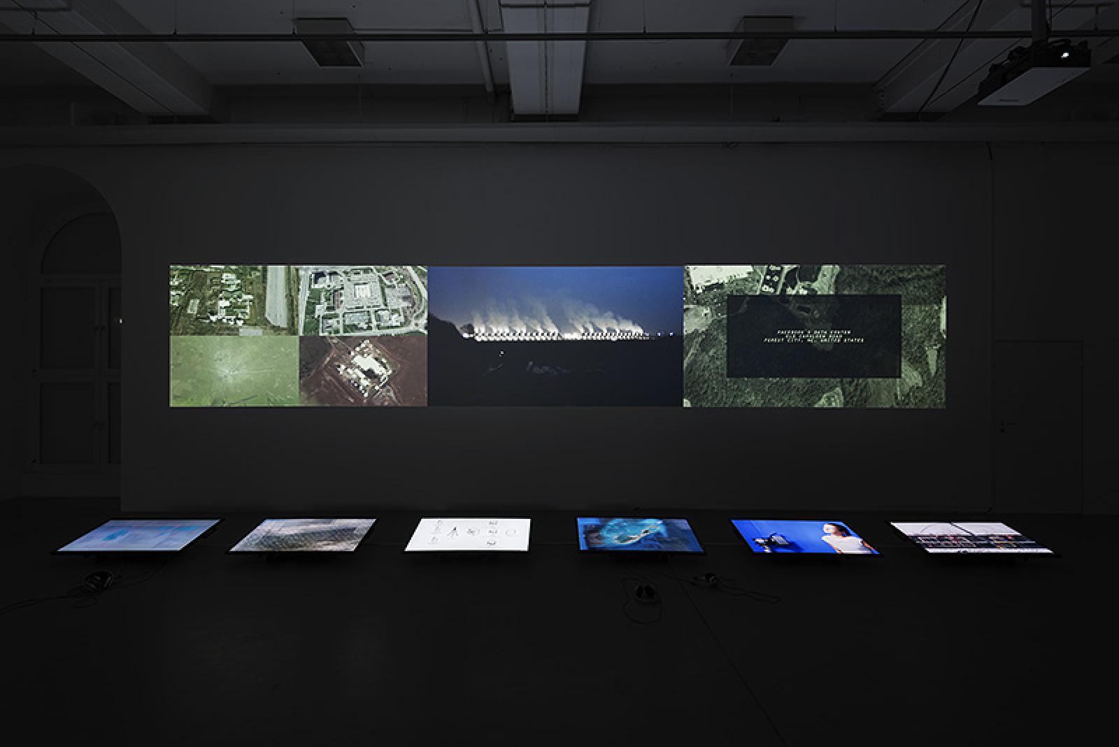 Ivar Veermäe ,  Centre of Doubt #1 , at Monitoring, Kasseler Kunstverein, Kassel, Germany, 2015