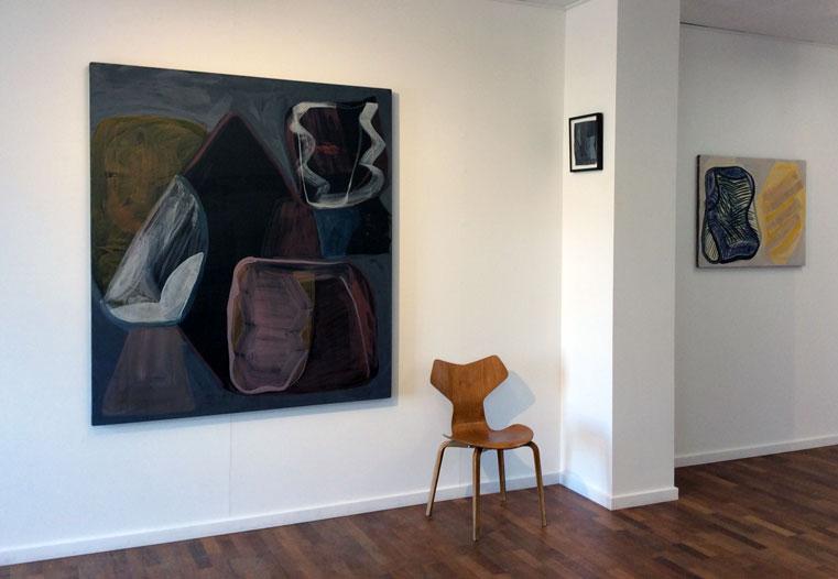 Julie Sass 's Black Fog Rising (Installation view). (Photo: Kinna Poulsen)