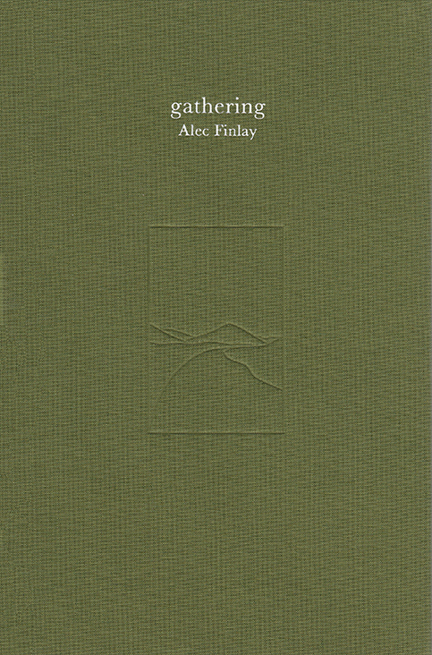 Alec Finlay ,  gathering  Published by Hauser & Wirth 2018, colour, 284pp £40 + p&p
