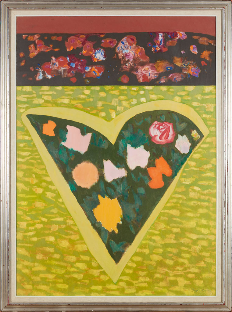David Michie ,  My Heart is a Garden . Oil on canvas. (Image courtesy An Talla Solais Gallery)