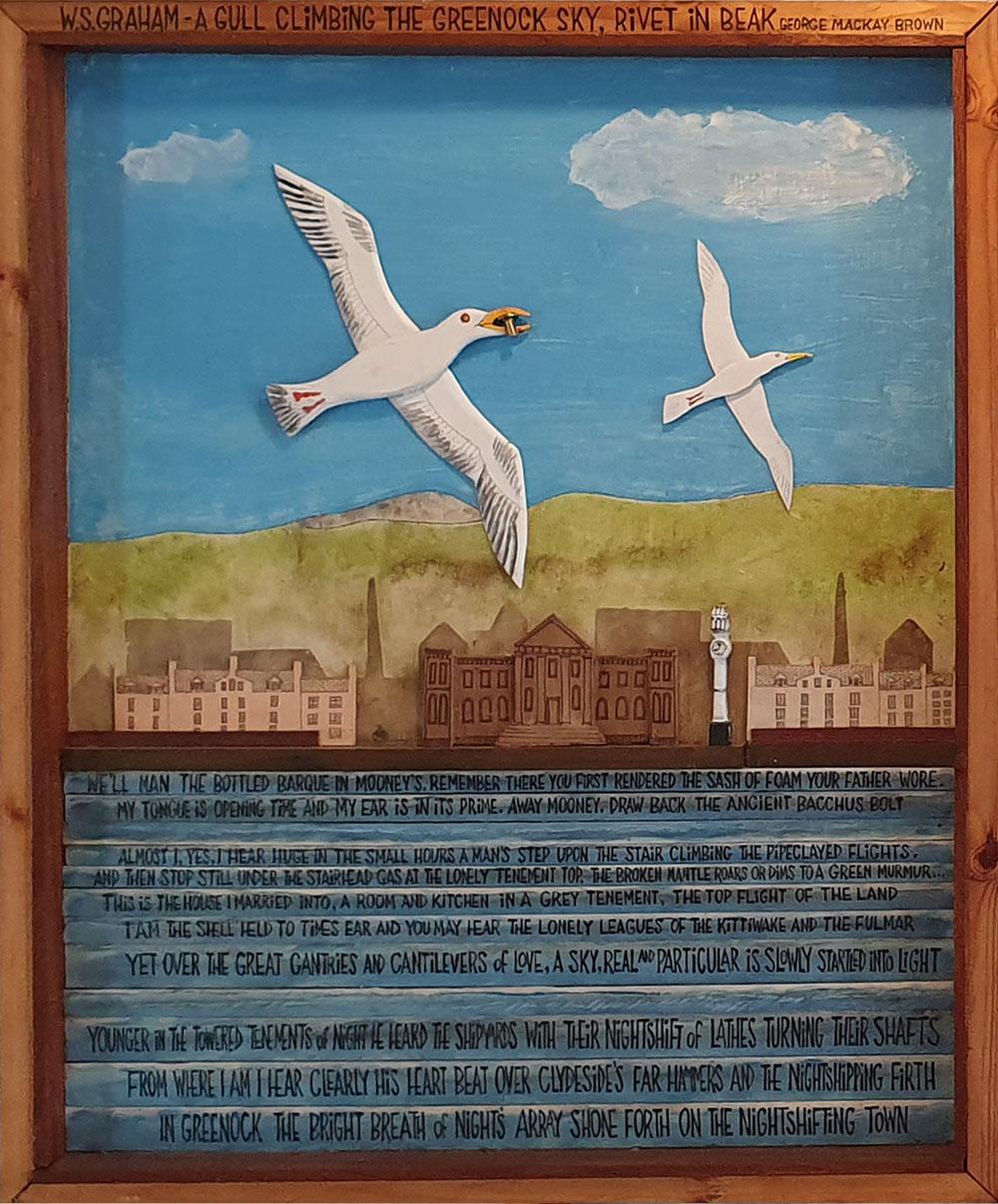 Mike McDonnell ,  Rivet In Beak  (courtesy the artist).