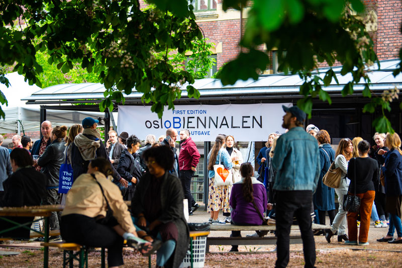 osloBIENNALEN : Opening weekend party. (Photo: Inger Marie, courtesy osloBIENNALEN, © Inger Marie)