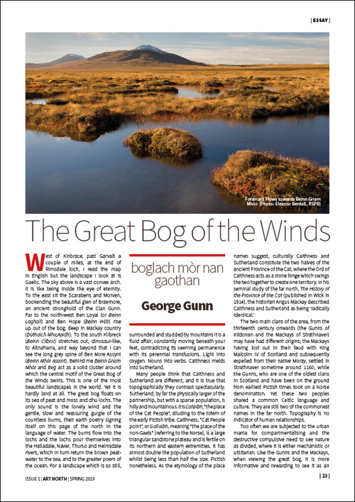 GREAT BOG OF THE WINDS - GEORGE GUNN