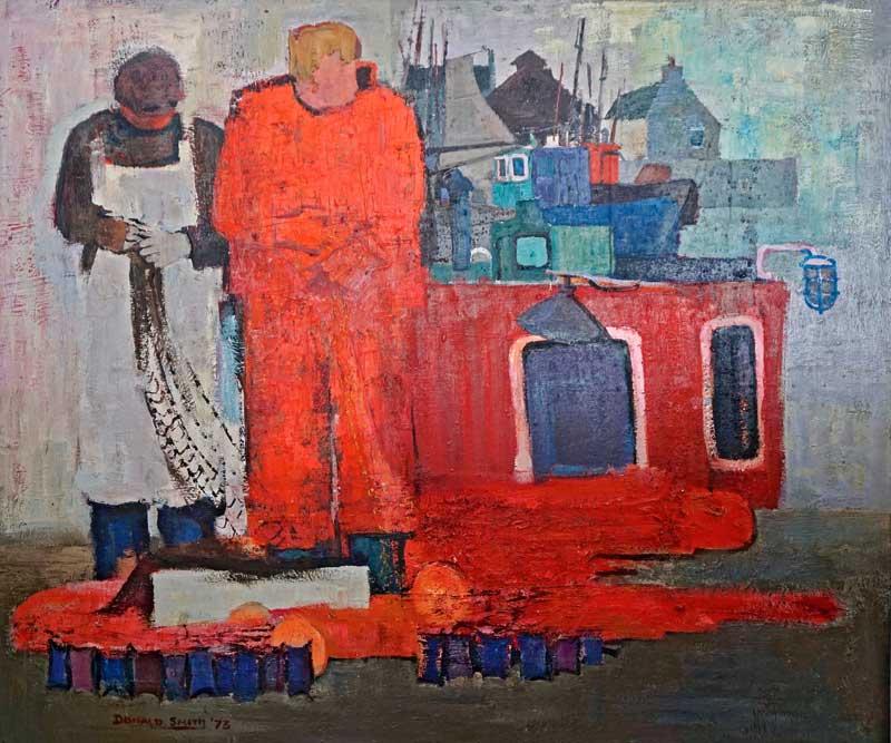 Donald Smith ,  Balaich an Iasgaich , 1973 (courtesy Murdo Macdonald/An Lanntair)