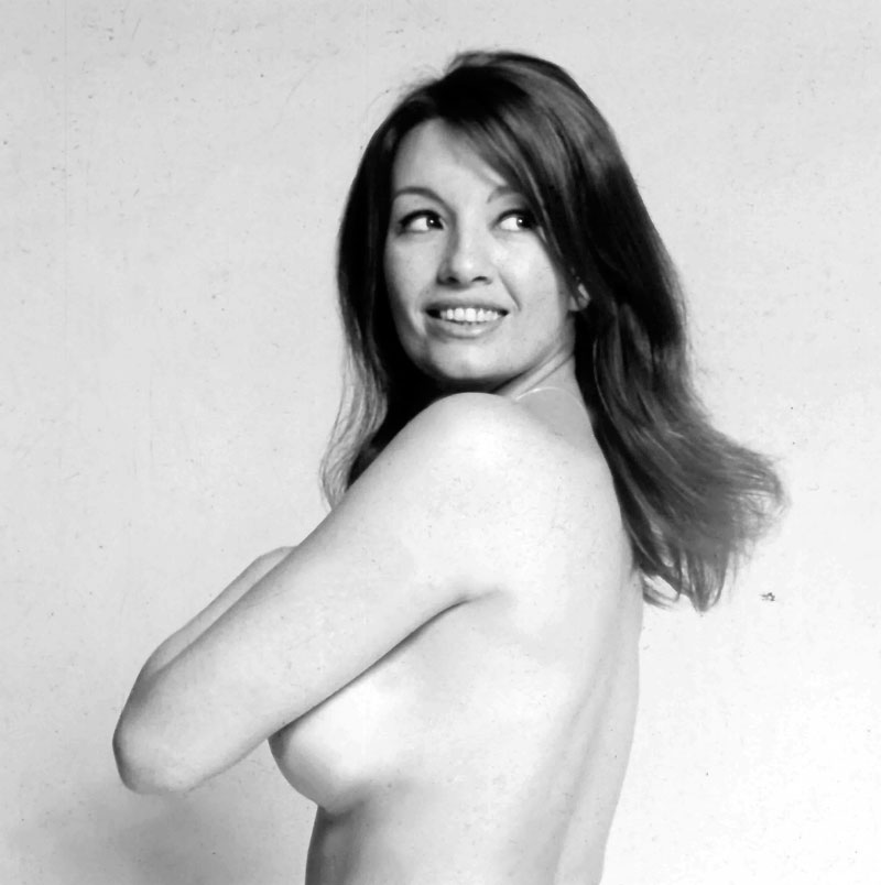 Christine Keeler  (photographer unknown). Courtesy the  Christine Keeler Collection  with kind permission of James Birch.