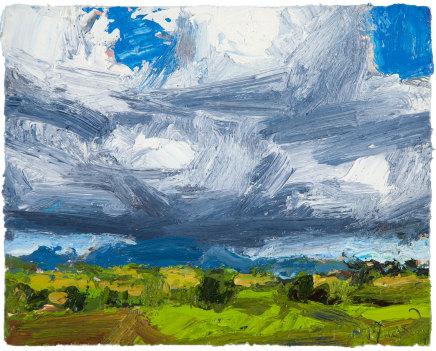 Allan MacDonald ,  Ben Wyvis , 2019, oil on canvas, 20cm x 25cm