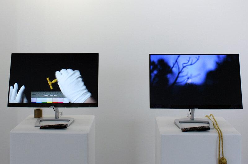 Kotryna Ula Kiliulyte ,  Impossible Colonies , Untitled, 'Silent looped digital videos', 2017. (Photo: Ian McKay).